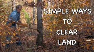 Clearing Land for Farming or Homesteading - The Farm Hand's Companion Show, ep 2