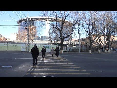 Yerevan, 03.02.19, Su, (на рус.), Video-1, Строящийся цирк. B гостинице.