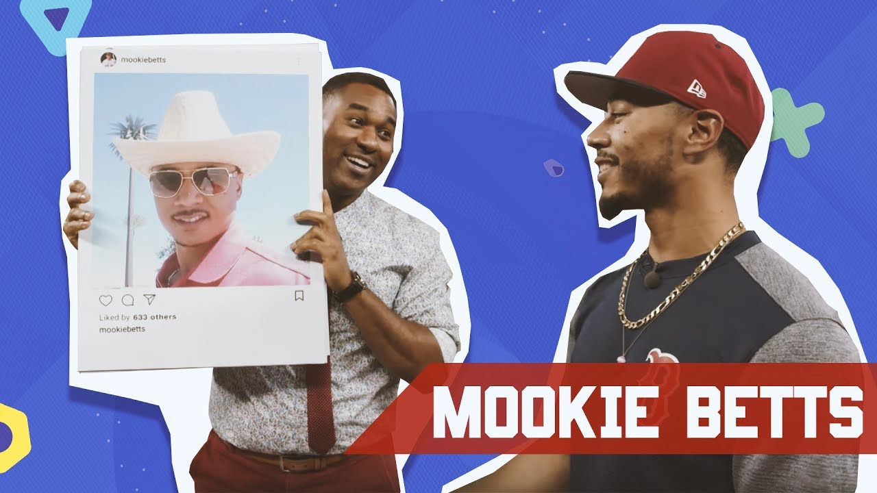 MOOKIE BETTS EXPLAINS HIS INSTAGRAM PHOTOS ON CABBIE PRESENTS
