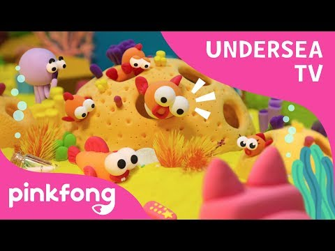 undersea-tv- -pinkfong-clay- -craft-for-kids- -pinkfong-songs-for-children
