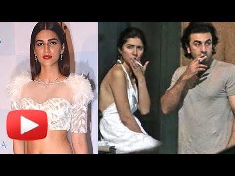 Kriti Sanon Strong Reaction On Ranbir Kapoor Mahira Khan New York Date