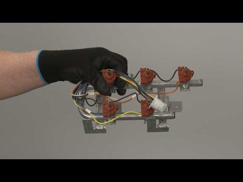 Manifold Assembly – Kitchenaid Gas Downdraft Cooktop Repair (Model #KCGD506GSS00)