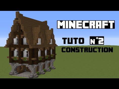 Minecraft Comment Construire Une Forge Maison Medieval