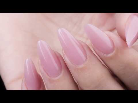 TechGel By Organic® Nails // Almendra Clásica