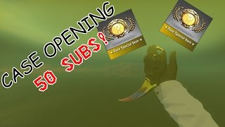 50 SUBSCRIBER CASE OPENING!! (CB:RO - ROBLOX)