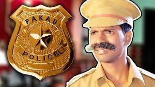 Pakau Police | Hindi Comedy Video | Pakau TV Channel