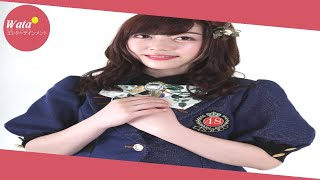 NMB48の松村芽久未(22)が19日、大阪・NMB48劇場で、卒...