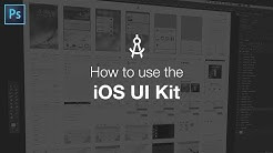 How to use the iOS UI Kit for Photoshop