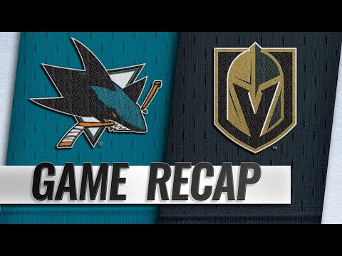 Sharks beat Golden Knights for 1,000th win
