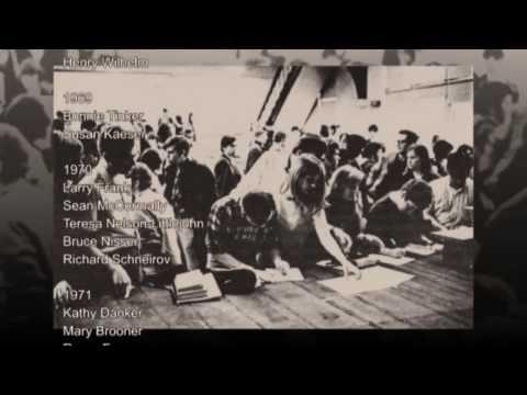 """Flashback  """"Grinnell Activism, 1969-1973"""""""