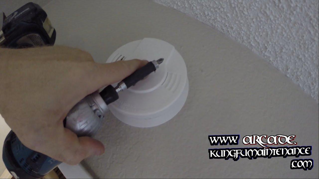 Smoke Alarm Install Inside Bedroom Quarters Ten Year Lithium Ion ...