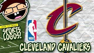 How to Draw CLEVELAND CAVALIERS Logo (NBA) | Narrated Easy Step-by-Step Tutorial