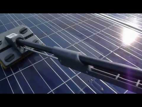 How to easily clean the solar panels on your roof, clean panels make more money