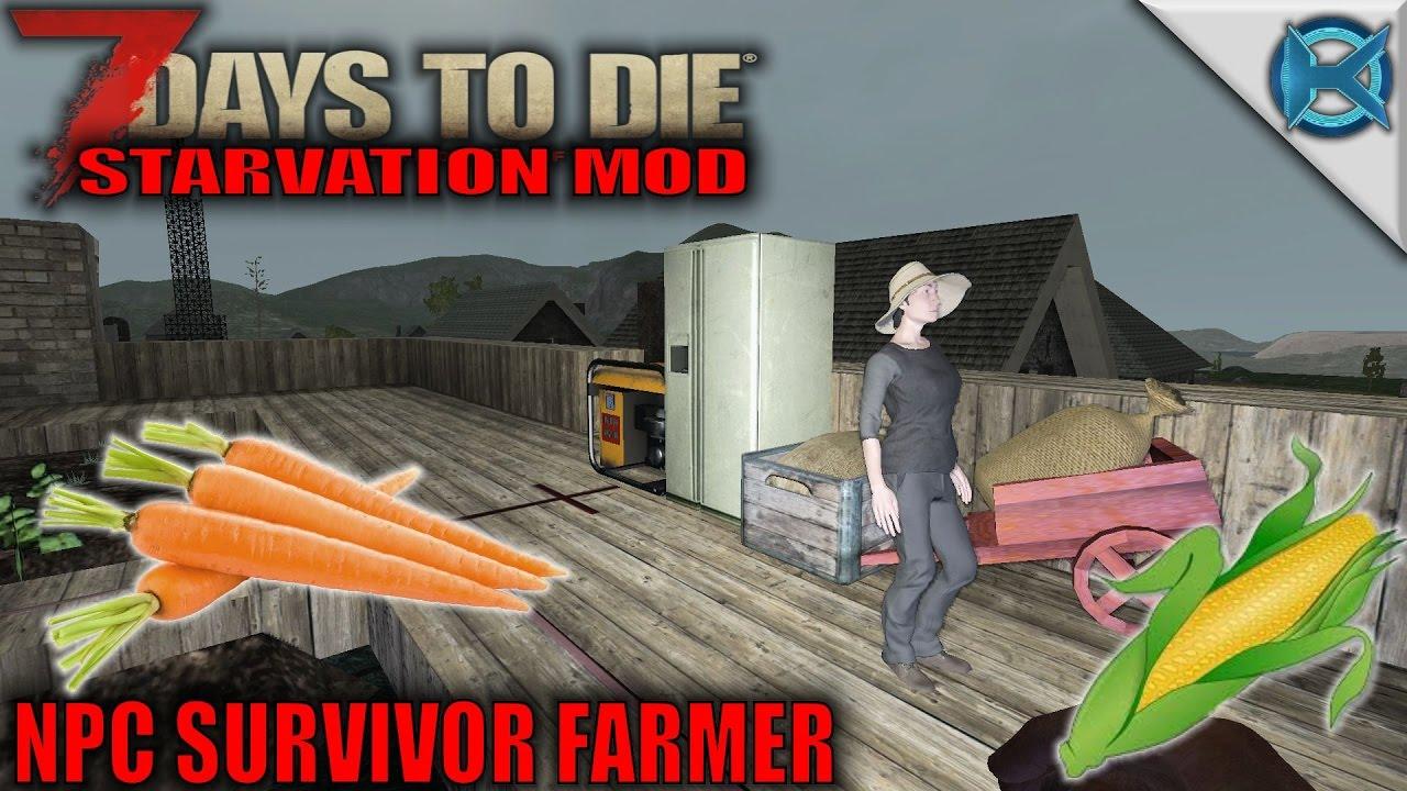 maxresdefault 7 days to die mod npc survivor farmer sp let's play starvation  at honlapkeszites.co