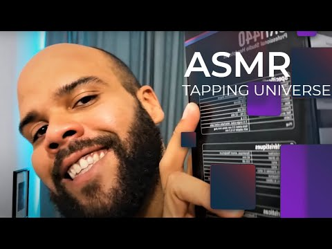 ASMR Tapping Universe 3D Sounds and whisper in french