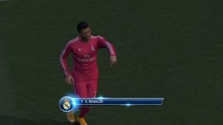 Pro Evolution Soccer 2015 PC Gameplay Cristiano Ronaldo Goal Celebrations