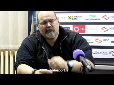 KZŠ: Aleksandar Džikić i Aleksandar Cvetković pred Cedevitu (28.02.2016)