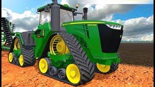Мультики про машинки| Современная техника Синий Трактор сажает картошку Ферма Новые мультфильмы 2017