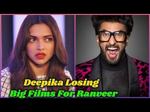 Deepika Padukone Is Losing Big Films For Ranveer Singh