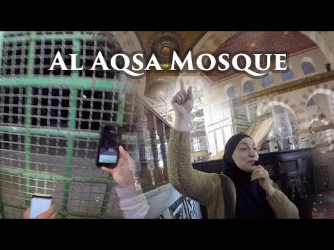 Tour of Masjid Al Aqsa. Includes Qibli Mosque, Dome of the Rock, Buraq Mosque and Marwani Mosque