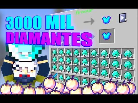 Eggwars reto del diamante mas de 3000mil diamantes Cronusrd