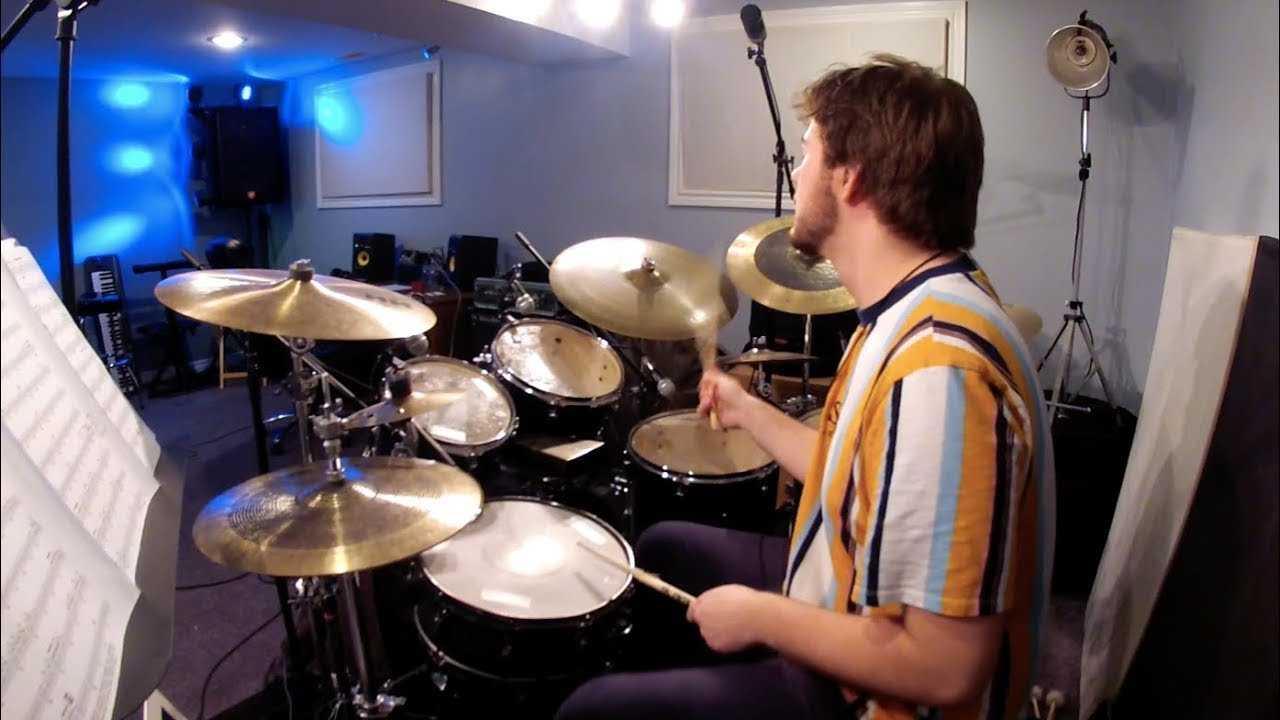 Swingin' For The Fences - Eric Vanier (Drum Play-Along)