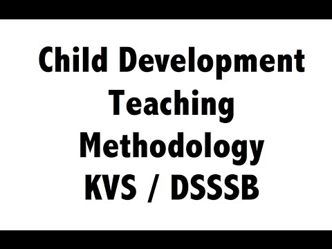 Child Development/Teaching Methodology for KVS(PRT)/DSSSB/CTET (Pen-drive Demo Video)