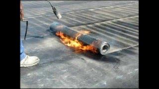 Ремонт кровли крыши гаража в Подольске(, 2016-02-10T17:22:16.000Z)