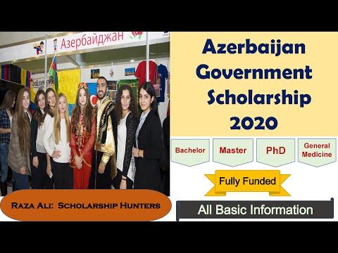 Azerbaijan Government Scholarship 2020
