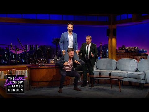 Nikolaj Coster-Waldau Demonstrates Prison Workouts to Lin-Ma