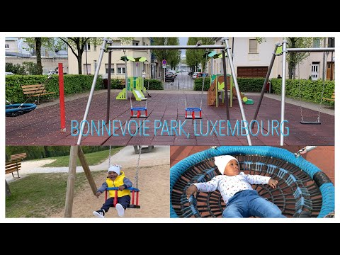 Bonnevoie park Luxembourg | Life as an African baby living in Luxembourg