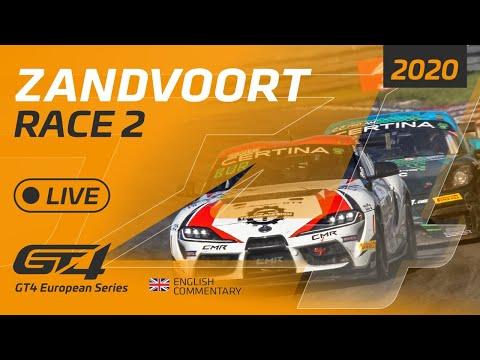 RACE 2 - GT4 EUROPEAN SERIES - ZANDVOORT 2020 - ENGLISH