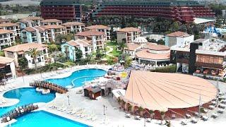 Отель Gypsophila Holiday Village 5 Окурджалар Аланья обзор территории отеля 2021