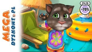 My Talking Tom Gra #2 • Opieka nad kotkiem • Gry na telefon