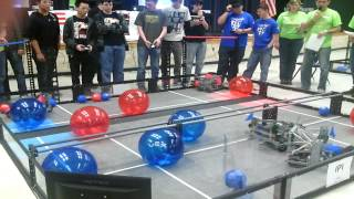 2/1/14 Team 7094 at Flower Mound Vex TossUp