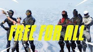 FREE FOR ALL SUR FORTNITE !! (Team GDM)