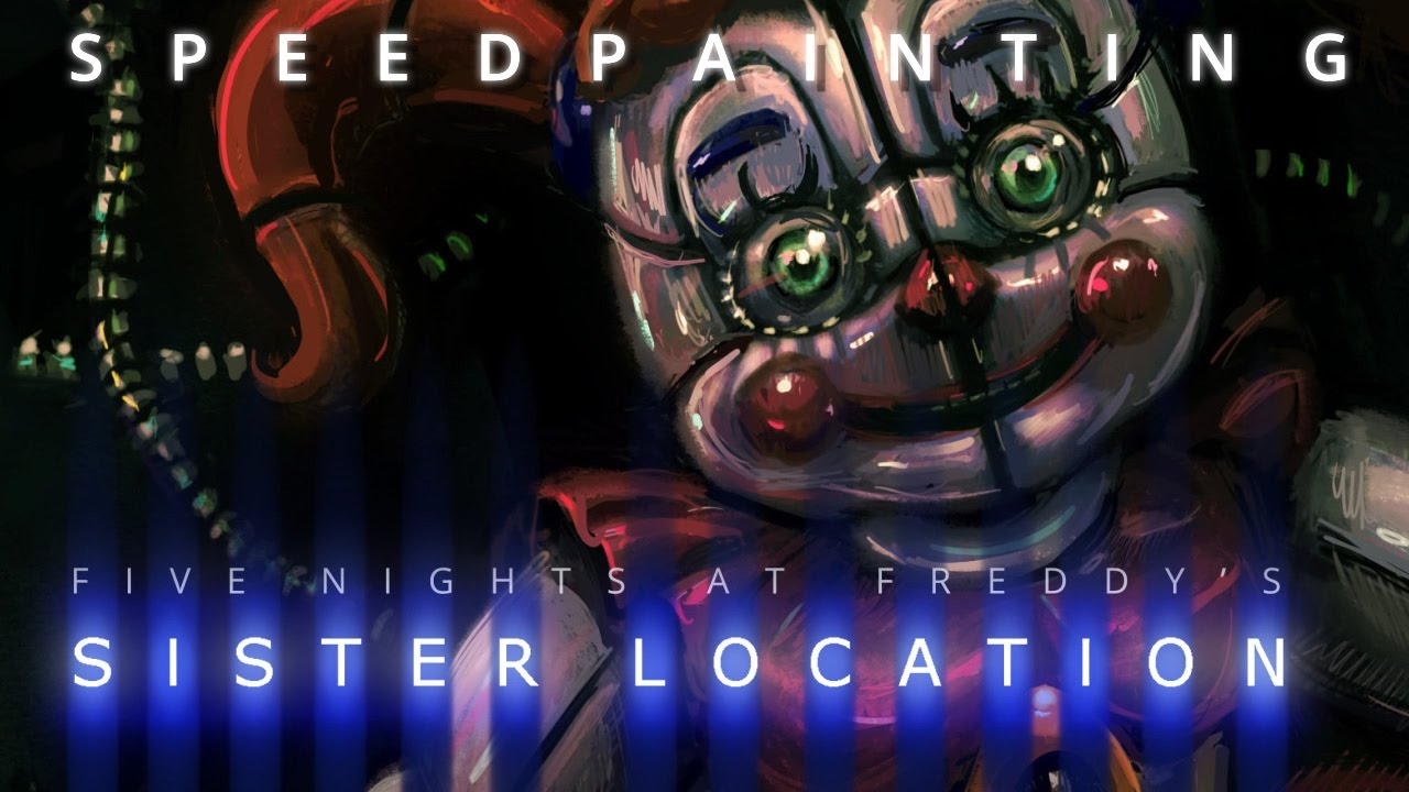 Circus Baby (FNAF Sister Location) - Sketch + Paint Demo