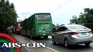 Daan-daang motorista stranded ng 8 oras sa Ilocos Sur