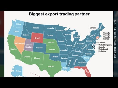 32 U.S. states say Canada is biggest export partner
