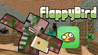 FNAF vs Mobs: Flappy Bird MMO Challenge - Monster School (Five Nights At Freddy's)