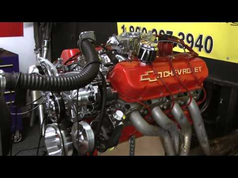 502 Chevy Crate Engine Live Engine Run - YouTube
