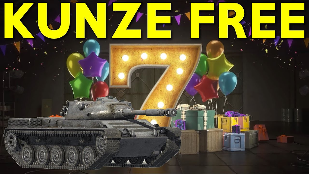 Download WOTB | HOW TO GET THE KUNZE PANZER FOR FREE!