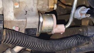 2009 Mitsubishi Montero Sport 2.5L Suction Control Valve (SCV) Removal and Service