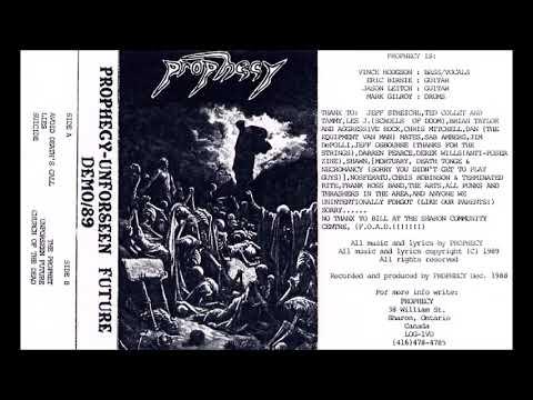 Prophecy - Unforseen Future - (1989) - [Full Demo] Mp3