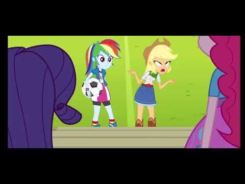 Appledash Moments Equestria Girls