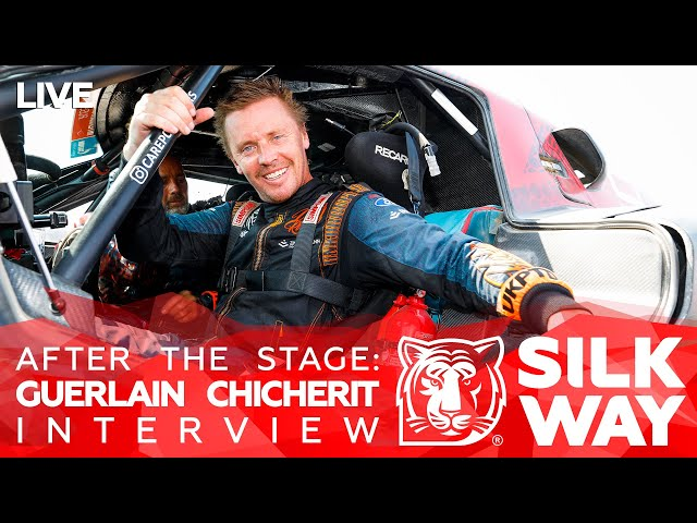 After the stage: Guerlain Chicherit Interview // SWR2021