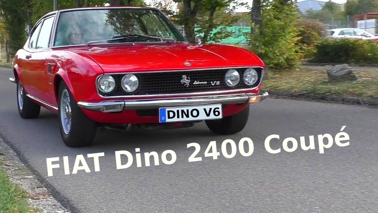 Fiat Dino 2400 Coupé V6 1969 1972 Youtube