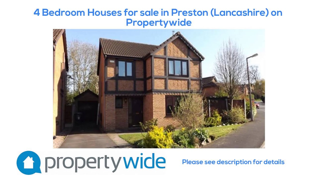 4 bedroom houses for sale in preston lancashire on for Four bed houses for sale
