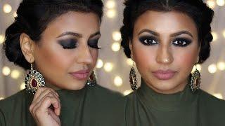 new year s eve makeup tutorial   smokey eyes   meeramemep