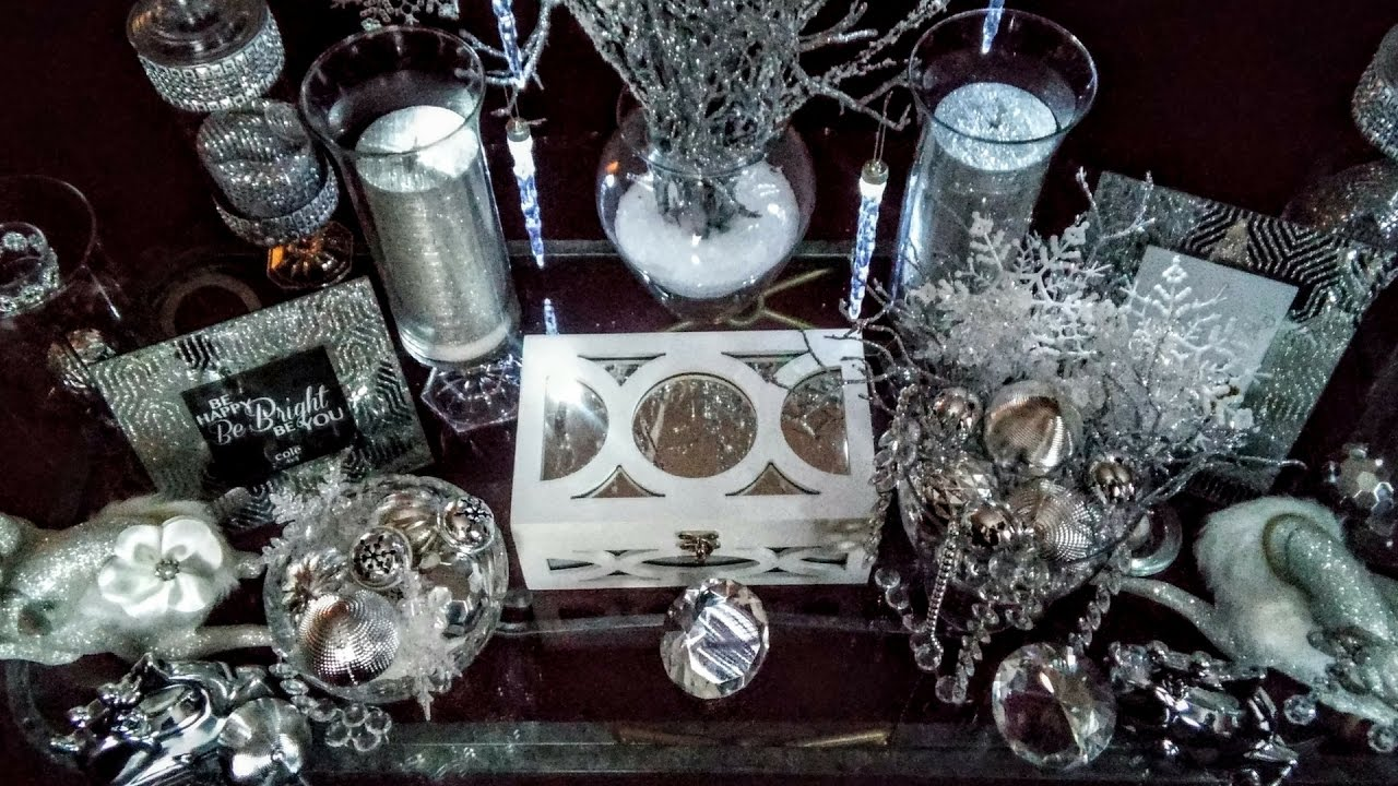 Dollar Tree DIY! A Glamorous ❄Winter Wonderland❄ on a Budget| DIY B-day????| DIY Home Decor????